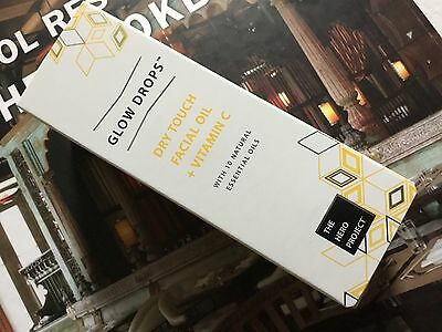 THE HERO PROJECT GLOW DROPS DRY TOUCH FACIAL OIL + VITAMIN C 30ml BNIB