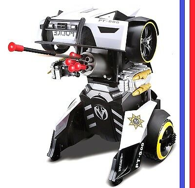 Transformers Robot Maisto RC IR Ages 8+ Radio Remonte Control Police