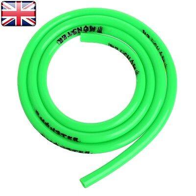 1m Universal Motorcycle Fuel Line Petrol Pipe 5mm I/D x 8mm O/D Fuel Hose Green