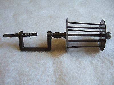 Rare Antique Georgian Sewing Clamp Thread Winder Early 19C Early Collectible