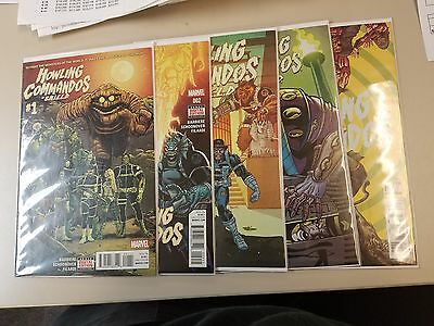 Howling Commandos of S.H.I.E.L.D. #1-5 Marvel Comics 2016