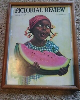 Pictorial Review September 1924 N-8 edition Nell Hot Girl Eating Watermelon