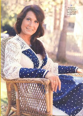 Loretta Lynn, Country Music Star in 2012 Magazine Print Photo Clipping