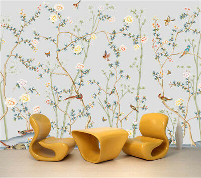 Wintersweet 3D Full Wall Mural Photo Wallpaper Printing Home Kids Decoration