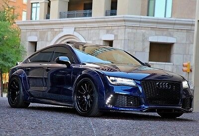 2013 Audi RS7  2013 Audi S7 4dr HB Prestige 550 hp WIDE BODY