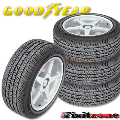 4 X New Goodyear 195/60R15 88H Eagle RS-A M+S All Season High Performance Tires