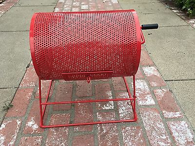 """Large RED Raffle Drawing Ticket Drum 22"""" X 16"""" X 19"""" - Schools, Carnivals!"""