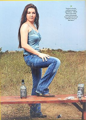 Gretchen Wilson, Country Music Star in 2012 Magazine Print Photo Clipping