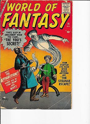 World of Fantasy #14  Atlas  Infantino art