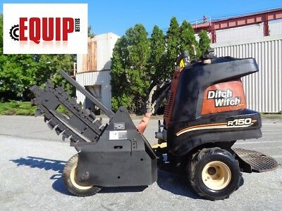 2008 Ditch Witch R150 Trencher - Honda Engine - Articulating