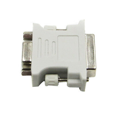 15 Pin VGA Weiblich to 24+5 pin DVI Male Adapter Video Konverter for PC Laptop