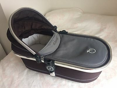 icandy Peach Carrycot Black- with mattress