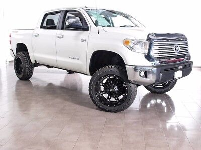 "2016 Toyota Tundra LIMITED NEW 6"" LIFT 22"" FUEL WHEELS 35"" MUD TIRES 2016 TOYOTA TUNDRA 4X4 TRD LIMITED LEATHER NAV SUNROOF"