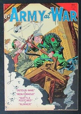 Our Army At War #28 (1954) DC Nice FINE to FINE+ 6.0-6.5 CA624