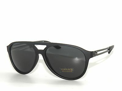 846a02c898c4e VERSACE 4312 BLACK Rubber  Grey 5141 87 Sunglasses 1250 -  31.00 ...
