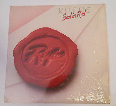 Rufus Seal In Red Vinyl LP Warner Bros Free Shipping