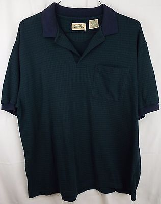 Men's St Johns Bay Polo Style Pullover Shirt Size XL Cotton Blend