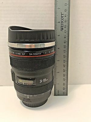Canon Canian Camera Lens EF-24-105mm Stainless Steel Travel Tea/Coffee Mug/Cup