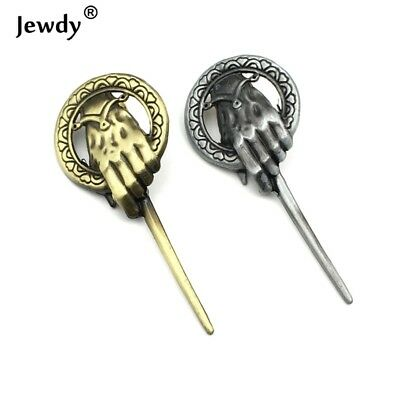 7 cm Game of Thrones Song of Ice And Fire Brooch Hand of the King Lapel Inspi...