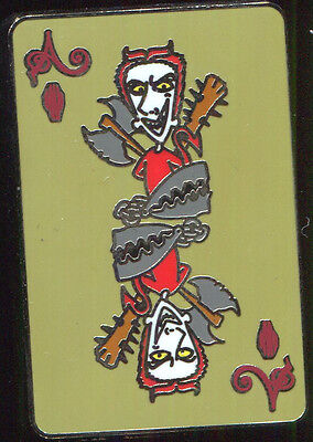 Nightmare Before Christmas Playing Card Mystery Lock Disney Pin 110366