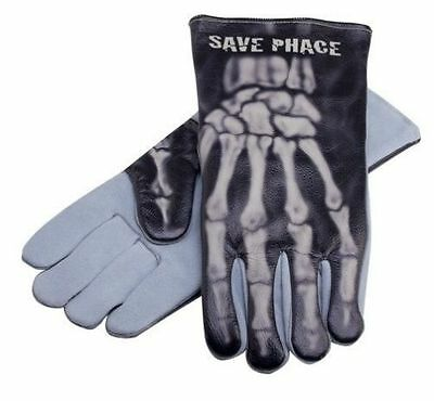"""Save Phace  """"Bones"""" Welding Gloves 3012343  Size Large  BNWT Free shipping"""