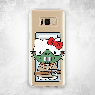 Cannibal Hello Kitty Soft Silicone TPU Case Samsung Note 8 9 S6 S7 S8 S9 Plus