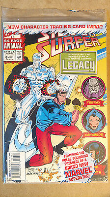 Silver Surfer Annual #6 Polybagged First Print Marvel Comics (1993)