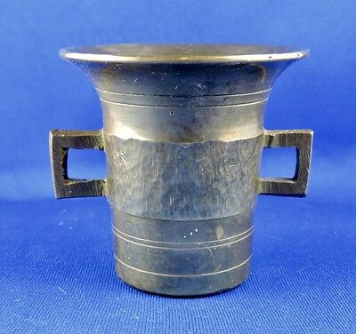 Antique Brass Mortar - Size Marked #5