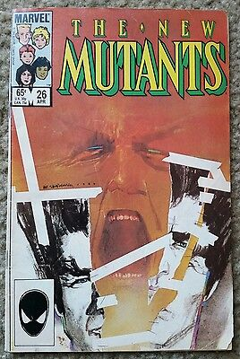 The New Mutants #26 Key Comic Book 1st Legion New  X-men TV Show - • $4.99