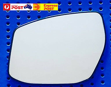 Left side mirror glass for NISSAN ALTIMA L33 2014 On Convex base (ROUND Clips)