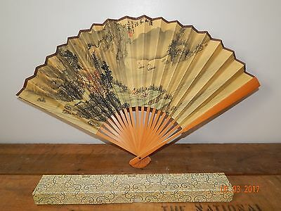 Vintage Chinese Fan Signed Lot # 2