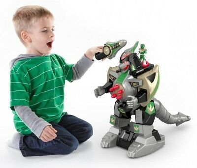 Fisher-Price Imaginext Power Rangers Green Ranger and amp; Dragonzord Rc KIDS