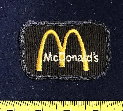 Vintage McDonald's Fast Food Restaurant Uniform Patch