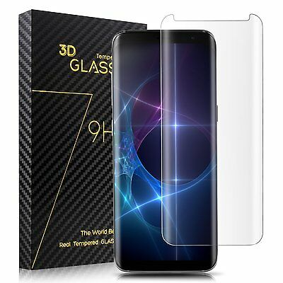 Case Friendly Tempered Glass Screen Protector Shield for Samsung Galaxy S8 Plus