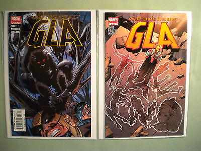 GLA: GREAT LAKES AVENGERS#3 & 4 Marvel Comics 2005 SQUIRREL GIRL 1st Solo Cover!