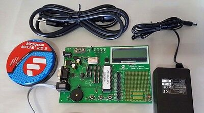 Microchip MPLAB ICD 2 In Circuit Debugger With PICDEM 2 Plus Demo board