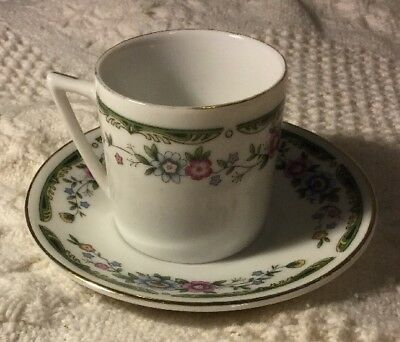 Mini Tea Cup And Saucer Made In Japan Floral