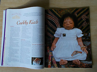 ADB&C Vol 15 #3~Doll & Bear Patterns~Reborn Aboriginal Kiah~Amala (pt1)~Elf (pt2