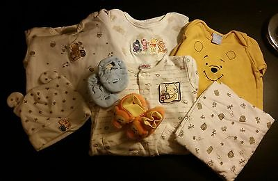 8 piece Winnie the Pooh Set 0 to 6 months FREE SHIPPING