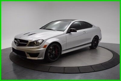 2015 Mercedes-Benz C-Class C63 AMG® 2015 C63 AMG Used Turbo 4L V8 32V Automatic RWD Coupe Premium Moonroof