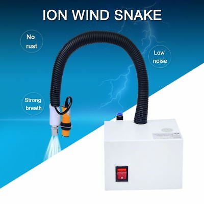 Ionizing Air Snake static electrostatic dust control nozzle antistatic Cleanroom