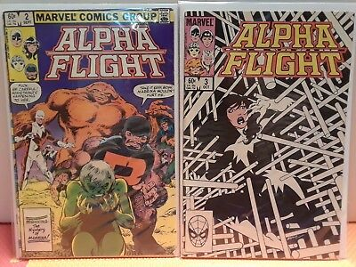 Alpha Flight #2,3
