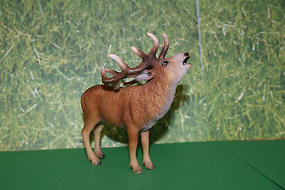 Schleich Buck Red Deer Wild Life 2010