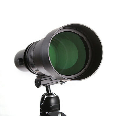 650-1300mm Telephoto Zoom Lens w/ T Mount Adapter for Canon Nikon Sony Olympus