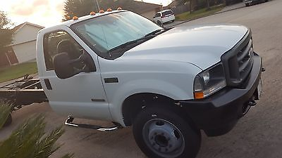 2004 Ford F-550  2004 FORD F-550 6.0 POWERSTROKER DIESEL SINGLE CAB & CHASSI ( NO RESERVE)