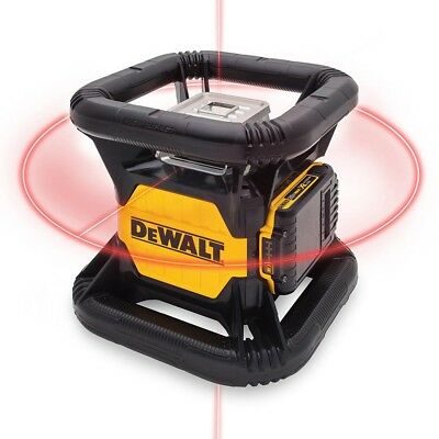 DEWALT 20-Volt Lithium-Ion Red Rotary Laser Level