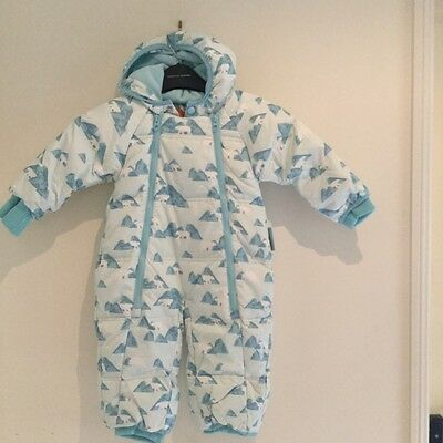 NEW mountain warehouse infants snowsuit snow ski suit size 6-12 months
