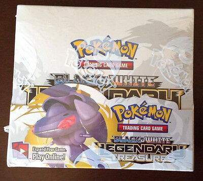 Pokemon Booster Box Legendary Treasures Booster Pack x36 *Factory Sealed* TCG