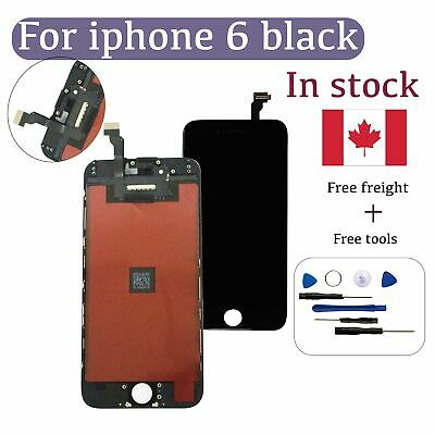 """Screen glass for iPhone 6 4.7"""" Replacement LCD & Digitizer with Tools - Black CA"""