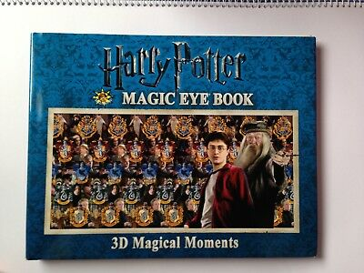 Harry Potter Magic Eye Book : 3D Magical Creatures And Beings